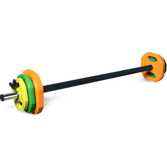 Lifespan Fitness Pump/Studio Barbell Weight Set 20kg